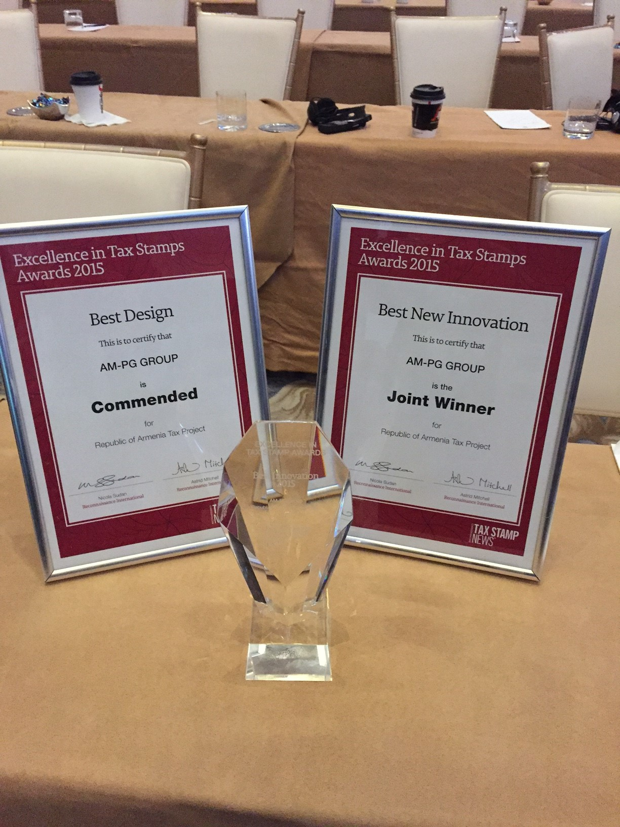 Best New Innovation and Best Design 2015