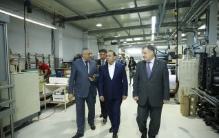 The Prime Minister of the Republic of Armenia Visits AM-PG GROUP