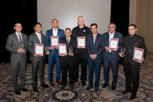 Winners of Excellence in Tax Stamps Awards 2015